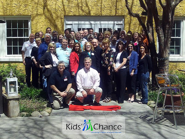 Attendees of the Kids' Chance of America 2013 annual meeting